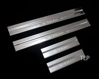 4 DOOR STAINLESS STEEL SCUFF PLATE SILL COVER FOR NISSAN X-TRAIL XTRAIL 2015 SUV