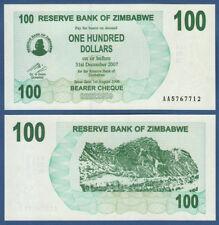 SIMBABWE / ZIMBABWE 100 Dollars 2006  UNC  P. 42