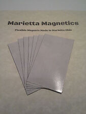 250 Self-adhesive Peel-and-stick Business Card  Magnets. Made in USA