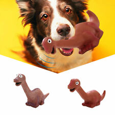 Pets Dog Puppy Chew Play Latex Dinosaur Squeaker Squeaky Sound Dog Toys Funny