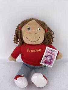 "Vintage 14"" Francine Marc Brown PBS Arthur Plush Eden Doll Stuffed With Tag"