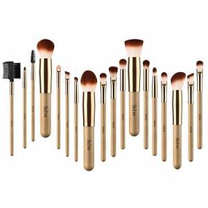 Morphe Professional Cosmetic Makeup Brush Set Eyeshadow Foundation Brushes 18 pc