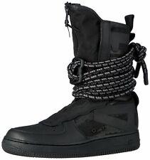 Nike SF Air Force One High Men's Boots Black/Black-Dark Grey Size 7.5 AA1128-002