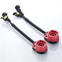 G4 AUTOMOTIVE 2x D2S HID Relay Harness 35W/55W OEM Wiring Ballast Bulb Connector