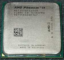 AMD Phenom II X 6 1035T 2.6GHz Six Core Processor, HDT35TWFK6DGR, AM3