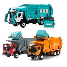Garbage Truck Toy 1:43 Scale Metal Diecast Car Toy Birthday Boy Kids Gift Child