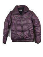 Columbia Women's Size XS Purple Down Filled Long Sleeve Full Zip Puffer Jacket