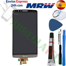 PANTALLA PARA LG G3 D855 Gris TACTIL + LCD + Herramientas DISPLAY Grey