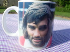George Best tribute mug with Song & George in Kit 11oz original design (new)