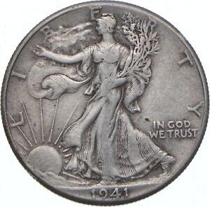 1941 Walking Liberty Half Dollar - TC *396