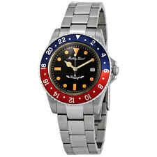Mathey-Tissot Rolly Vintage Black Dial Pepsi Bezel Men's Watch H900AR