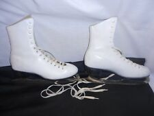 MK Crusader Ice Skate/Skating Blades Womens 9 2/3 Sheffield  Steel England