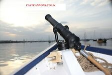 Replica 16th or18th C. Full Size Naval Swivel Cannons. British Foundry Cast Iron