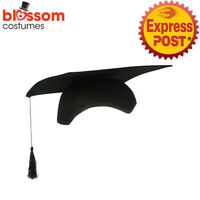 AC713 Graduation Cap Hat Mortar School College University Costume Accessories