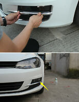 Chrome Front Fog Light Eyebrow Lamp Cover Trim For Golf 7 MK7 2014