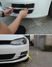 For VW Volkswagen Golf 7 MK7 2014 Chrome Front Fog Light Eyebrow Lamp Cover Trim