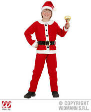 Childrens Santa Fancy Dress Costume Father Christmas Outfit 140Cm