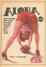 MAGAZINE ALOHA 1972 nr. 23  - JOHN CALE & VELVET UNDERGROUND / CRAZY HORSE/KLUTE