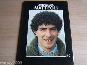 LIBRO=GIANFRANCO MATTEOLI=FORTE EDITORE=1987=STORIA E FOTO DEL GIOCATORE SARDO