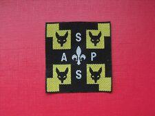 insigne écusson scout scoutisme scoute louveteau éclaireur scouting guide ASPS