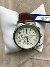 Seiko Chronograph SNDC31P2 Wrist Watch for Men with Tags