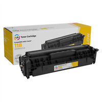 LD Remanufactured Toner Cartridge Replacement for Canon 118 2659B001AA (Yellow)
