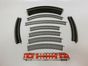 CL319-0, 5 #21x Roco H0/Dc Track/Track Piece curved: 4420+4422+4442, Very Good
