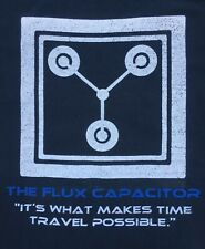 New listing Flux Capacitor retro shirt back to future delorean time travel COLLECTIBLE scifi