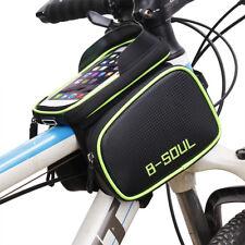 Fahrrad Tasche Mountainbike Rohr wasserdichte Handytasche Reitausrüstung