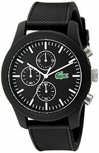 Lacoste 12.12 Quartz Movement Black Dial Men's Watch 2010821