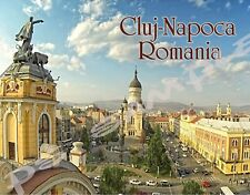 Romania - CLUJ-NAPOCA - Travel Souvenir Flexible Fridge MAGNET