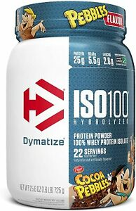 Dymatize ISO 100 Hydrolyzed Whey Protein Powder Isolate 1.6 lbs All Flavors US