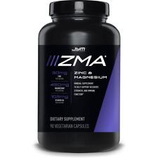 JYM ZMA Jym - 90 Capsules - Z-Jym Zinc Magnesium Dr Jim Stoppani Alpha Vita