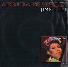 DISCO 45 GIRI    ARETHA FRANKLIN - JIMMY LEE / AN ANGEL CRIES