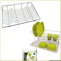 Dish Drainer Draining Rack Sink Organizer Tray Foldable Cutler Plate Holder Drip