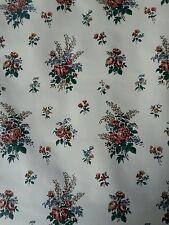 Vintage Wallpaper Floral Design By Gear Exclusive 2 Rolls 22yds 11yds each