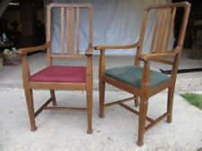Arts & Crafts Edwardian Chairs (1901-1910)