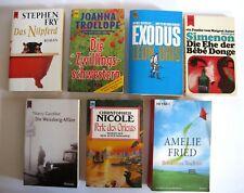 Konvolut 7 HEYNE Bücher Taschenbücher Bücher Romane Lesestoff K0765