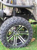 Nice Golf Cart Wheel and DOT tire Combo  14'' wheel Club Car, EZ-GO & Yamaha