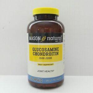 280 Capsules GLUCOSAMINE 1500 mg CHONDROITIN 1200 mg Vitamin C 198 mg
