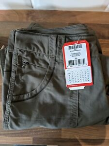 THE NORTH FACE WOMENS CONVERTABLE WALKING TROUSERS. FIT SIZE 8, LABELLED SIZE 12