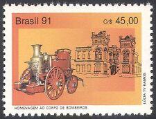 Il Brasile 1991 Fire Engine / emergenza veicoli di servizio / Soccorso / trasporto IV (n26451)