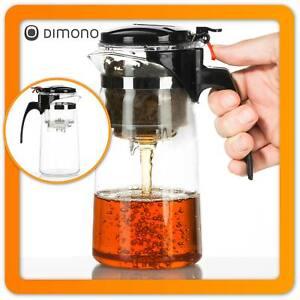 Profi Teebereiter Teamaker Dimono® Teekanne mit Teesieb Teefilter Teezubereiter