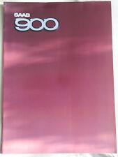 SAAB 900 GAMMA BROCHURE 1984 mercato del Regno Unito