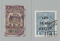 Chile revenue stamp Fiscal - 5-24-20