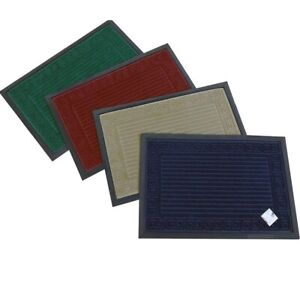 Tappeto tappetino da esterno zerbino in tessuto per ingresso porta portone 40x60