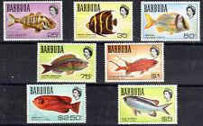 Barbuda QEII part set 1968 SG21-27 MNH [B905-1]