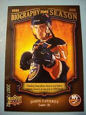 "2009-10 Upperdeck ""Biography of a Season"" # BOS-4 John Tavares Rookie Card!"