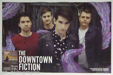 """The Downtown Fiction REAL hand SIGNED 11x17"""" Losers & Kings promo poster #2"""
