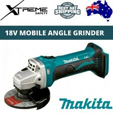 Makita DGA452Z 18V Lithium-Ion Cordless (115mm) Mobile Angle Grinder - Skin Only